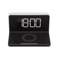 Беспроводное З\У Smartbuy Stand (часы, будильник, подсветка) (SBP-W-100)