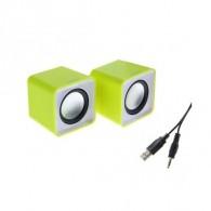 Колонки SmartBuy 2.0 SBA-2820 (4Вт) USB Mini зел