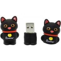 Флэш-диск SmartBuy 8GB USB 2.0 Котёнок черный
