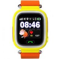 Smart-часы Q90 Hello детские с GPS трекером желтые
