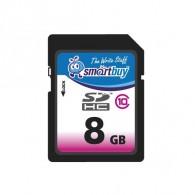 Карта памяти SDHC SmartBuy 8Gb Class 10