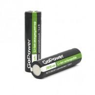 Аккумулятор GoPower 3.7v 2800mAh Li18650 без защиты