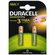 Аккумулятор Duracell R03 750 NiMH BL 2/20