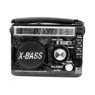 Радиоприемник XB-210 (USB/SD/FM) черный Waxiba