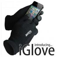 Перчатки iGlove для сенсорных экранов черно-белые