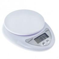 Весы кухонные до 7кг, 2 ААА белые LVK-501 (1147001)