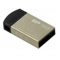 Флэш-диск Silicon Power 16GB USB 2.0 Touch T20 шампань