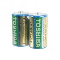 Батарейка Toshiba R20 sh 2/20