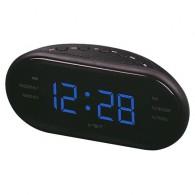 Часы настольные VST-902-5 син.цифры+радио (220V)