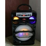 Колонка портативная MS-219BT (Bluetooth/USB /SD/FM/дисплей) черная