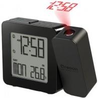 Часы электронные Oregon RM338P-B с проектором, черные