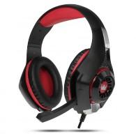 Наушники Crown CMGH-101T игровые черно-красные
