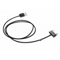 Кабель USB- Samsung Galaxy Tab 1м черный P1000