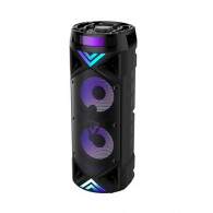 Колонка портативная 2*6.5 (ZSQ-6201ch) (Bluetooth/USB /FM/микрофон/пульт)
