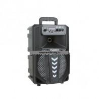 "Колонка портативная 8"" BT-09 (Bluetooth/USB /microSD) черная"