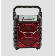 Колонка портативная KTS-1050B (USB\microSD\Bluetooth) красная