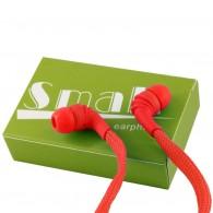 Наушники Small Шнурки красные