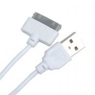 Кабель USB- iPhone4 Elrtonic 1,5м белый
