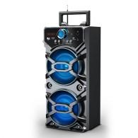 Колонка портативная MS-107BT-А (Bluetooth/USB /SD/FM) черная