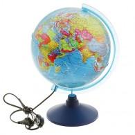 Глобус с подсветкой 25см полит карта (1072903)