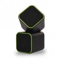 Колонки SmartBuy 2.0 SBA-2580 (6Вт) USB Cute черно-зеленые