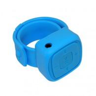 Флэш-плеер на руку в виде часов (слот microSD)