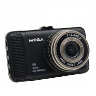 Видеорегистратор Mega Т659 (2 камеры,120\90°,microSD до 32Gb)