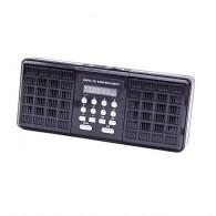Радиоприемник HN-1825LED (USB/microSD) черный Haoning
