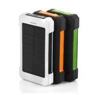 Внешний аккумулятор (Power Bank) 20000mAh (ЕК-6) солн.батарея+фонарь+компас