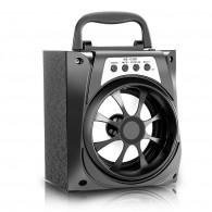 Колонка портативная MS-133BT (Bluetooth/USB /SD/FM/дисплей) черная