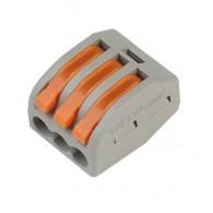 Строит-монтаж. клемма 3-х проводная с рычажками (SBE-cwcc-3)