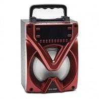 Колонка портативная KTS-1028F (USB\microSD\Bluetooth) красная