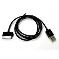 Кабель USB- Samsung Galaxy Tab 1м черный без упаковки
