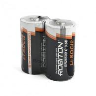 Батарейка Robiton ЕR26500(С) LiSOCl2 3,6V с лепест.выводами
