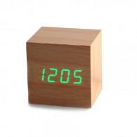 Часы настольные VST-869-4 зел.цифры, кор.корпус (дата, темп., будильник,4*ААА)