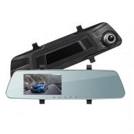 Видеорегистратор Mega L1020 (зеркало,2 камеры,120\90°,microSD до 32Gb)