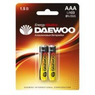 Батарейка Daewoo LR03 BL 2/20