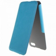 Чехол-книжка Brera для iPhone 5с голубой