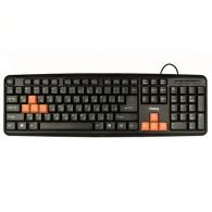Клавиатура Dialog KS-020U USB, черная (50582)