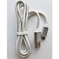 Кабель Am - microUSB SmartBuy 1м (2А) нейлон+металл (iK-12nn)