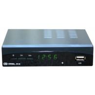 Ресивер цифровой DVB-T2 Oriel 314+ (HDMI, RCA, металл, дисплей)