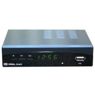 Ресивер цифровой DVB-T2 Oriel 314D+ (HDMI, RCA, металл, дисплей, АС-3)