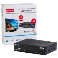 Ресивер цифровой DVB-T/DVB-T2 D-Color DC1301HD (металл, HDMI,USB, LED-дисплей