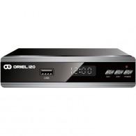 Ресивер цифровой DVB-T2 Oriel 120 (HDMI, RCA, металл, дисплей)