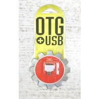 Адаптер OTG USB(гнездо) - microUSB Mega