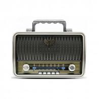 Радиоприемник MD-1909BT (Bluetooth/USB /SD/microSD/FM/акб/4*R20) чер Kemai