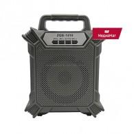 Колонка портативная ZQS-1410 (Bluetooth/USB /microSD) черная