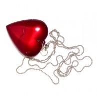 Флэш-диск 8Gb Usb2.0 Сердце на цепочке (U701A)