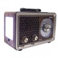 Радиоприемник М-U150 (USB/microSD/Fm/акб/2*R20) серый Meier