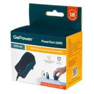 Блок питания GoPower 1000 (1000mA 3,0/4,5/5,0/6,0/7,5/9,0/12,0V)